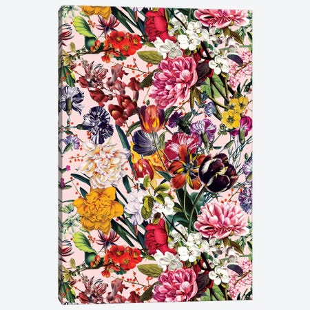 Exotic Garden - Summer Canvas Print #BUR180} by Burcu Korkmazyurek Canvas Art Print