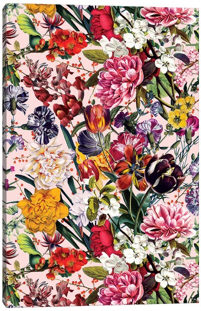 Exotic Garden - Summer Canvas Art Print