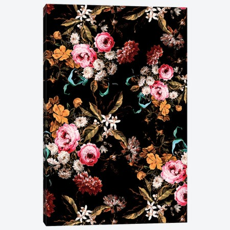 Midnight Garden IV Canvas Print #BUR184} by Burcu Korkmazyurek Canvas Wall Art