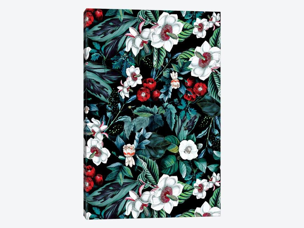 Midnight Garden V by Burcu Korkmazyurek 1-piece Canvas Art
