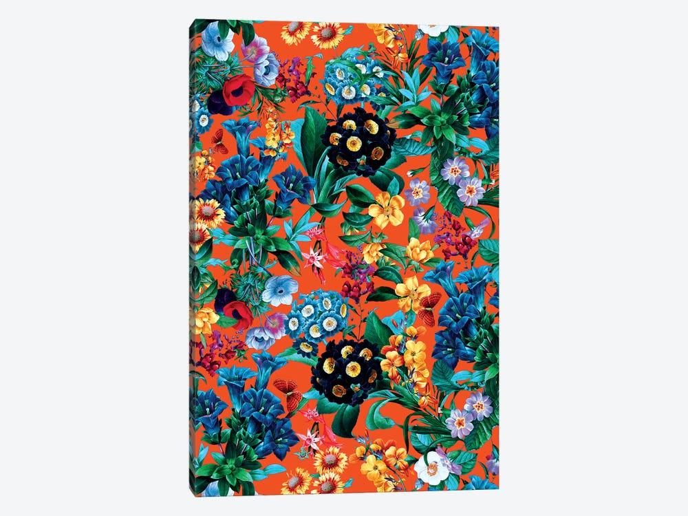Romantic Garden VII by Burcu Korkmazyurek 1-piece Canvas Print
