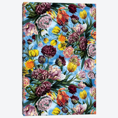 Sky Garden Canvas Print #BUR190} by Burcu Korkmazyurek Canvas Art