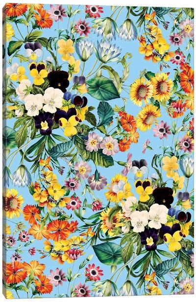 Summer Garden IV Canvas Art Print
