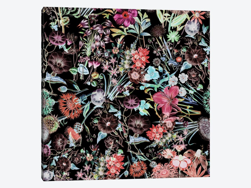 Floral Garden by Burcu Korkmazyurek 1-piece Canvas Wall Art