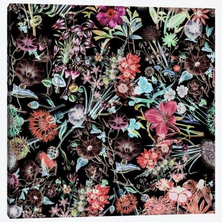 Floral Garden Canvas Print #BUR19} by Burcu Korkmazyurek Canvas Art Print