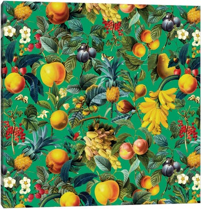 Fruit Pattern Canvas Art Print