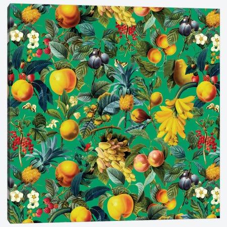 Fruit Pattern Canvas Print #BUR21} by Burcu Korkmazyurek Canvas Art