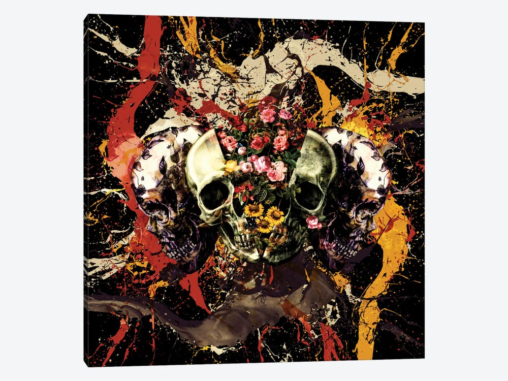 Skull I 1-piece Canvas Art Print