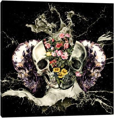 Skull II Canvas Print #BUR37