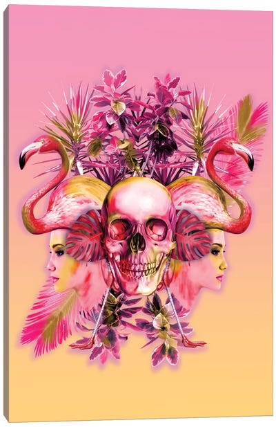 Skull III Canvas Art Print