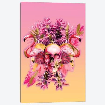 Skull III Canvas Print #BUR38} by Burcu Korkmazyurek Canvas Art Print