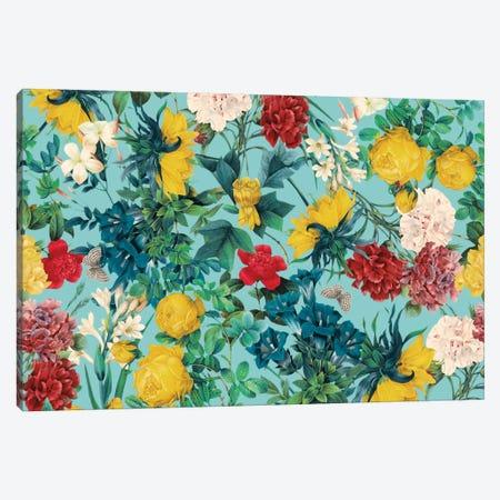 Summer Botanical III Canvas Print #BUR40} by Burcu Korkmazyurek Canvas Artwork