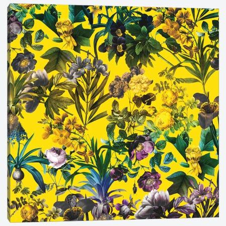 Tropical Jungle I Canvas Print #BUR42} by Burcu Korkmazyurek Canvas Artwork