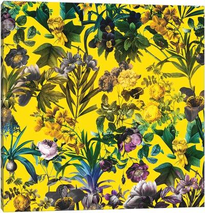 Tropical Jungle I Canvas Art Print