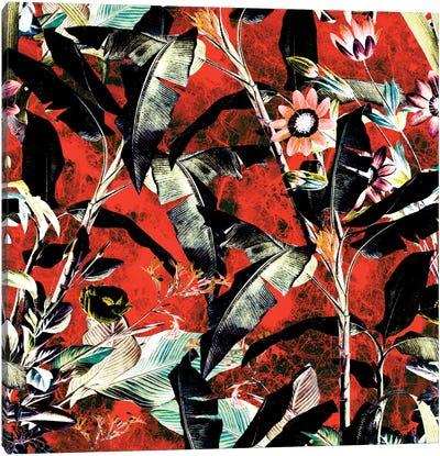 Tropical Jungle II Canvas Art Print