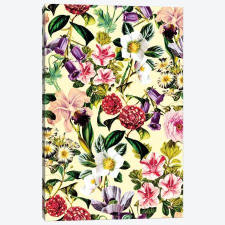 Summer Botanical X Canvas Print #BUR49} by Burcu Korkmazyurek Canvas Art