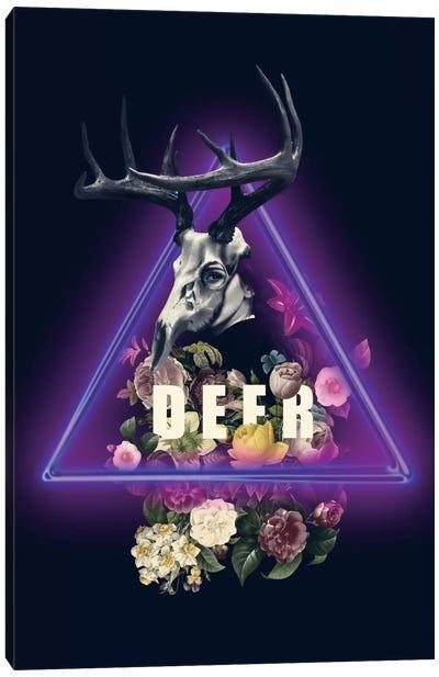 Deer Canvas Print #BUR4