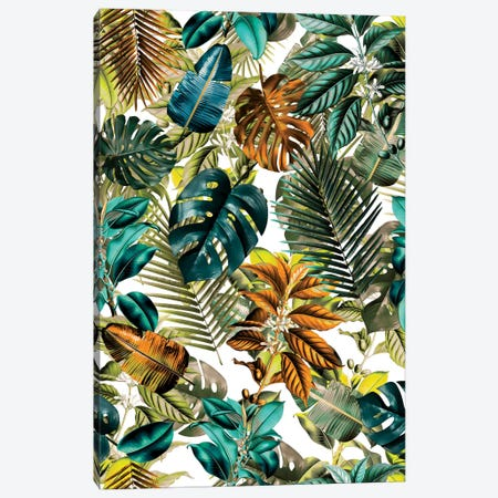 Tropical Garden IV Canvas Print #BUR50} by Burcu Korkmazyurek Canvas Art Print