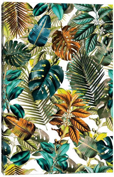 Tropical Garden IV Canvas Art Print