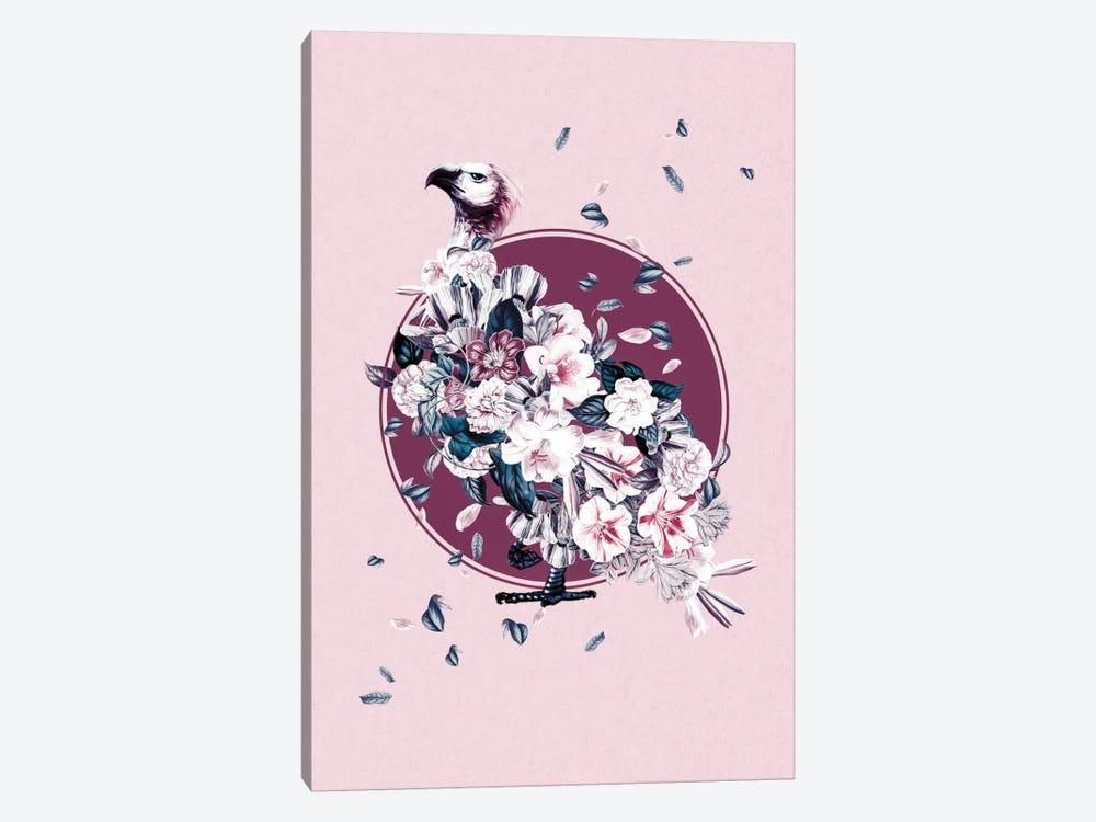 Floral Vulture by Burcu Korkmazyurek 1-piece Canvas Art