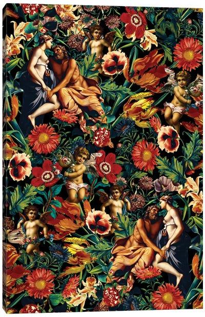 Hera & Zeus Garden Pattern Canvas Art Print