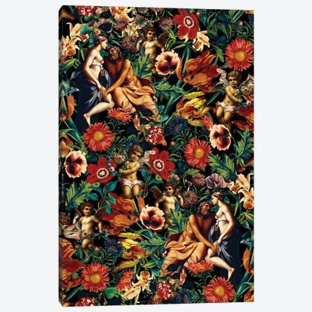 Hera & Zeus Garden Pattern Canvas Print #BUR61} by Burcu Korkmazyurek Canvas Artwork