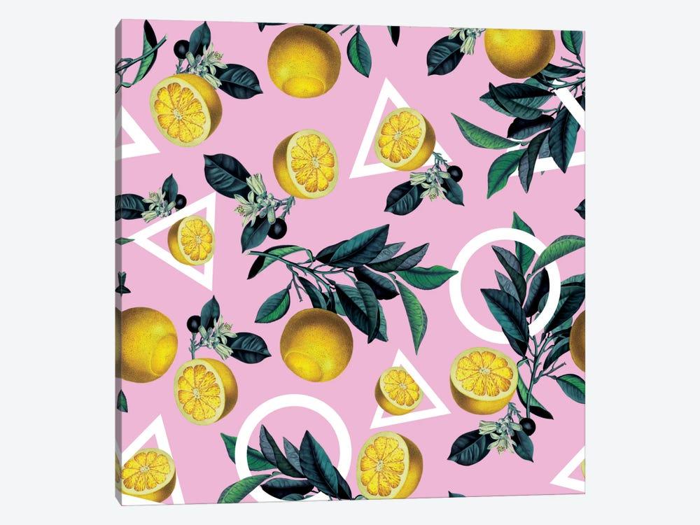 Lemon Classic by Burcu Korkmazyurek 1-piece Canvas Art Print