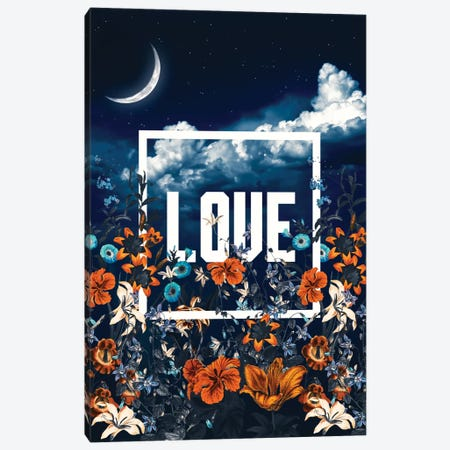 LOVE Canvas Print #BUR64} by Burcu Korkmazyurek Canvas Art Print