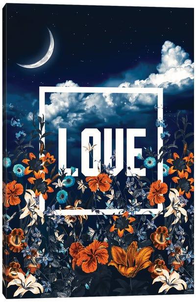 LOVE Canvas Print #BUR64