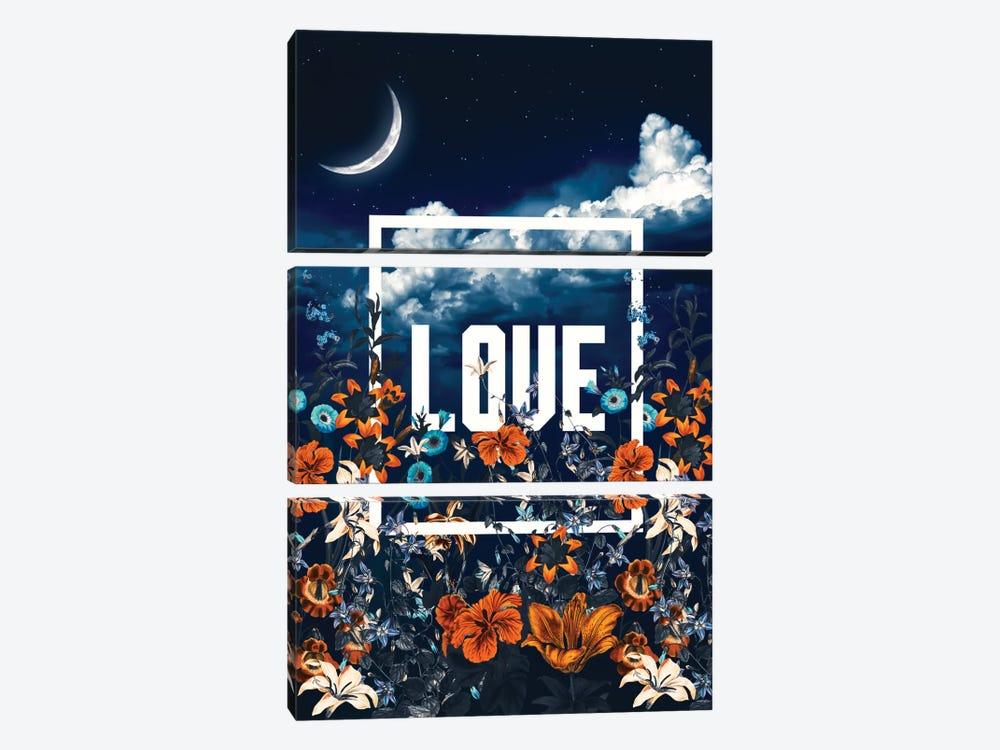 LOVE by Burcu Korkmazyurek 3-piece Canvas Artwork