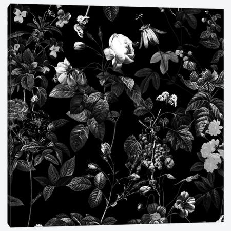 Siyah Canvas Print #BUR69} by Burcu Korkmazyurek Canvas Artwork