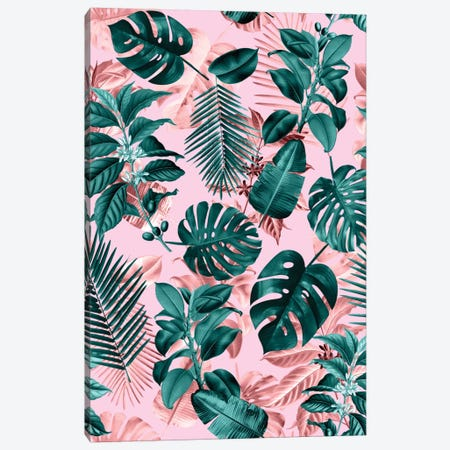 Tropical Garden III Canvas Print #BUR72} by Burcu Korkmazyurek Canvas Print