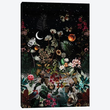 Night Canvas Print #BUR76} by Burcu Korkmazyurek Canvas Art