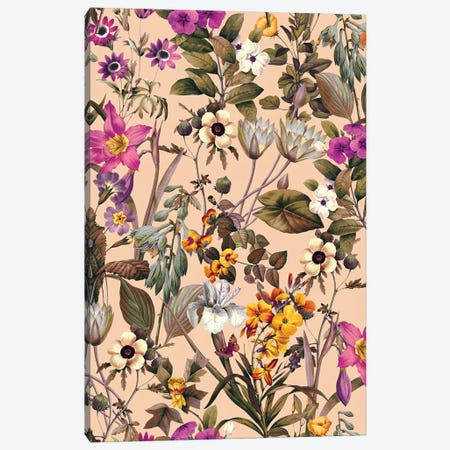 Exotic Garden IV Canvas Print #BUR79} by Burcu Korkmazyurek Canvas Print