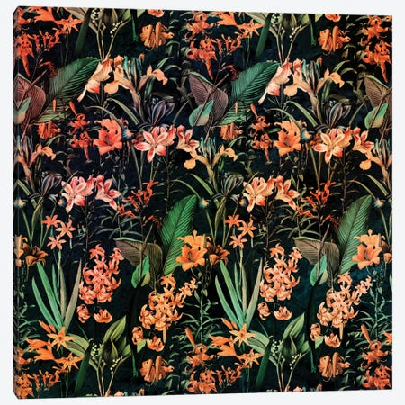 Exotic Garden Canvas Print #BUR7} by Burcu Korkmazyurek Canvas Print