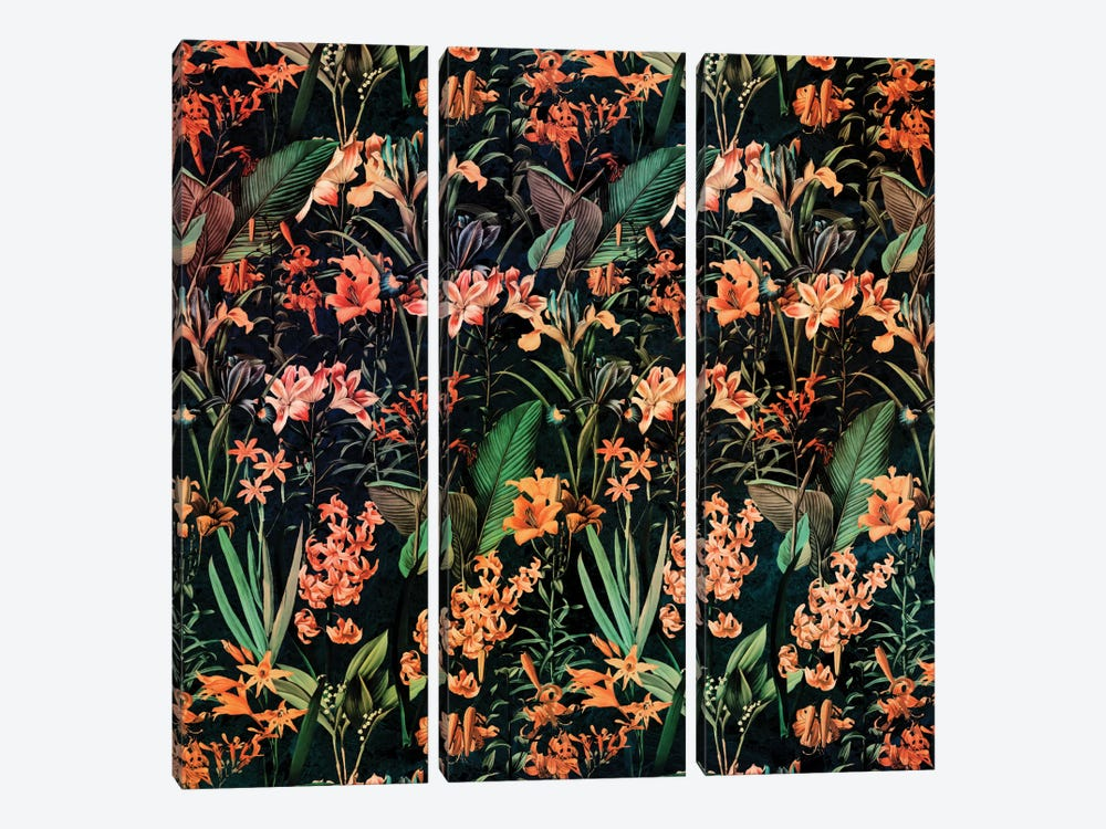 Exotic Garden 3-piece Art Print