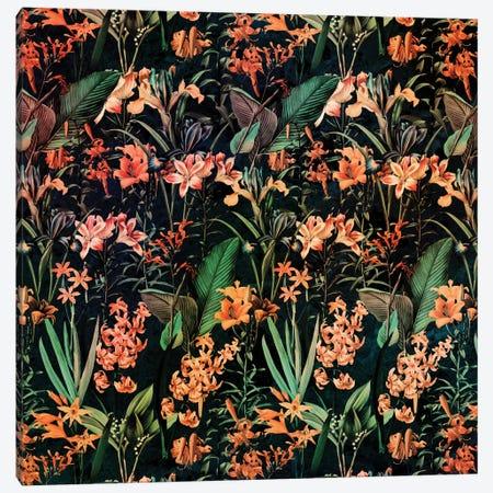 Exotic Garden Canvas Print #BUR7} by Burcu Korkmazyurek Canvas Print