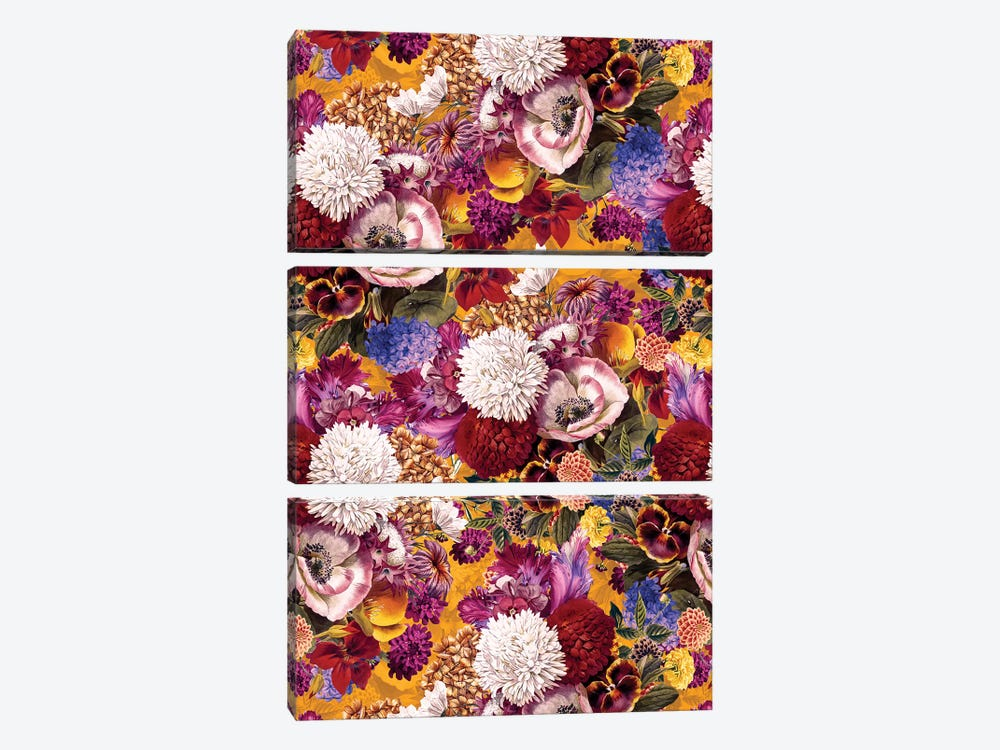 Exotic Garden XIII by Burcu Korkmazyurek 3-piece Canvas Artwork