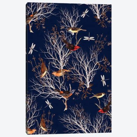 Floral Nature Canvas Print #BUR89} by Burcu Korkmazyurek Canvas Wall Art