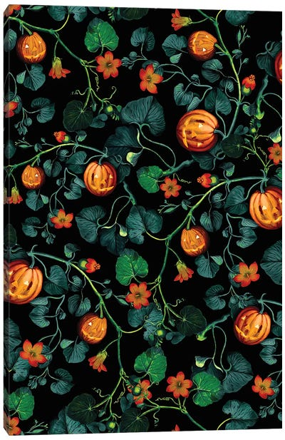 Halloween Canvas Art Print