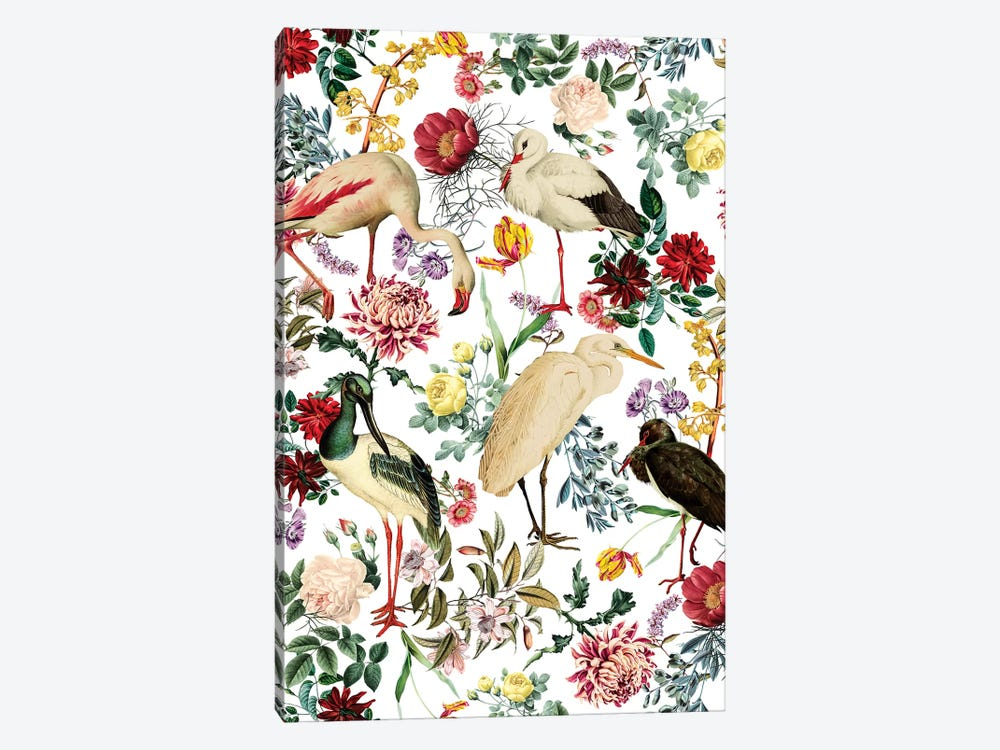 Long Legged Birds I by Burcu Korkmazyurek 1-piece Canvas Print