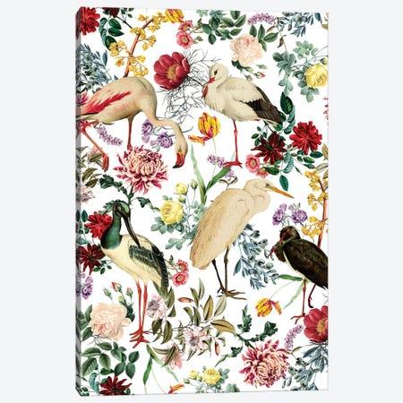 Long Legged Birds I Canvas Print #BUR94} by Burcu Korkmazyurek Canvas Artwork