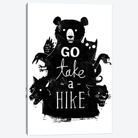 Go Take A Hike Canvas Print #BUX11} by Michael Buxton Art Print
