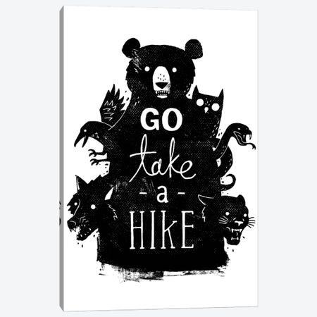 Go Take A Hike Canvas Print #BUX11} by Michael Buxton Art Print