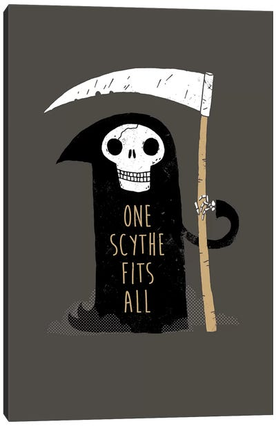 One Scythe Fits All Canvas Art Print