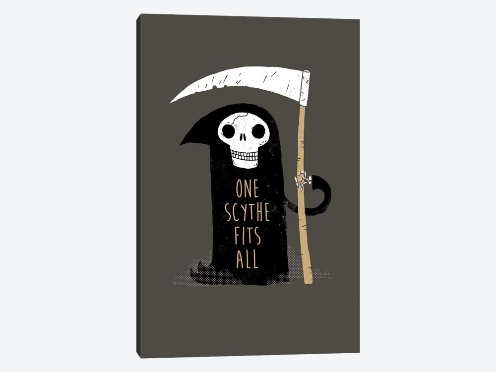 One Scythe Fits All by Michael Buxton 1-piece Canvas Art Print