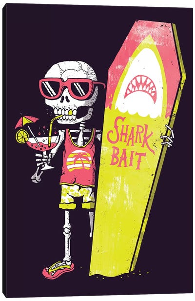 Shark Bait Canvas Art Print