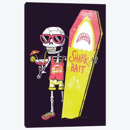 Shark Bait Canvas Print #BUX16} by Michael Buxton Canvas Art
