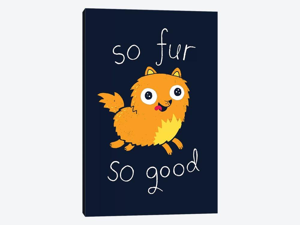 So Fur So Good by Michael Buxton 1-piece Canvas Wall Art