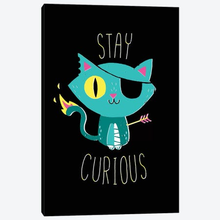 Stay Curious Canvas Print #BUX18} by Michael Buxton Canvas Art Print